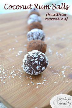 Raw Coconut Rum Balls {recipe redux}