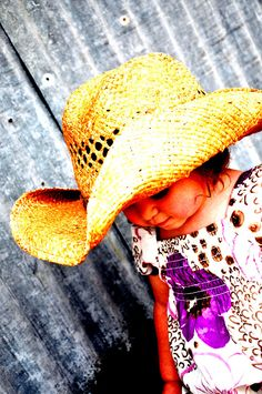 Little cowgirl.