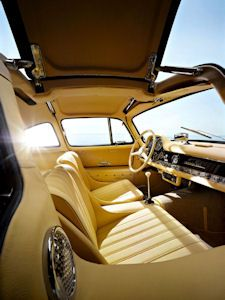 Mercedes-Benz 300SL Roadster  interior