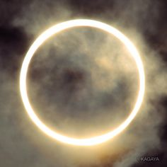 Annular Solar Eclipse--the moon blocks most of the solar disk but leaves a ring of sun blazing around the moon's circumference. The full 'ring of fire' effect was visible in parts of eight states in the western U.S. on 5/20/12