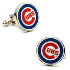 Cubs cuff links for those special occasions.  -also ...add diy printables www.customweddingprintables.com