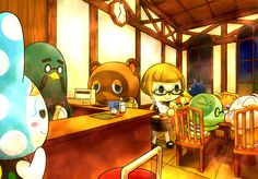 Animal Crossing - The Roost Cafe