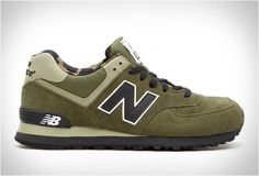 NEW BALANCE ML574 MILITARY CAMO: TSAMFW #6 http://losperrosnobailan.blogspot.com/2013/04/these-shoes-are-made-for-walking-6.html?spref=tw