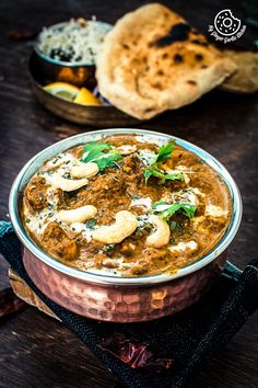 Kaju Curry or Cashew Curry is a rich, and creamy curry made with roasted cashews and creamy onion toamto gravy. Learn to make best kaju curry with video. Shahi Paneer Recipe, Paneer Recipes, Masala Recipe, Veg Recipes, Curry Recipes, Indian Food Recipes, Gourmet Recipes, Vegetarian Recipes, Cooking Recipes