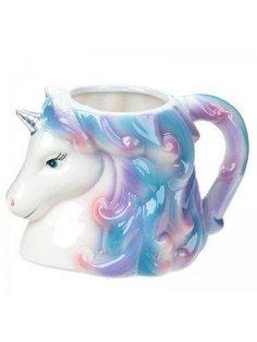 Enchanted Rainbow Unicorn Head Mug Mugs Set, Tea Mugs, Coffee Mugs, Unicorn Head, Rainbow Unicorn, Novelty Mugs, Novelty Gifts, Personalised Gifts Unique, Unique Gifts