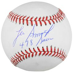 Lee Smith Chicago Cubs Fanatics Authentic Autographed Baseball with 478 Saves Inscription - $59.99