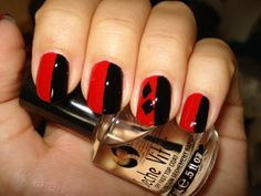 Harley Quinn Mani