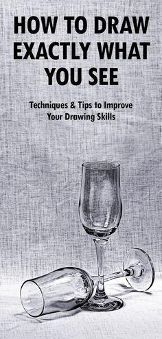 Learn to draw and sketch with these easy drawing tips. Read step-by-step instructions (with pictures) explaining how to draw what you see. If you want to be able to draw realistically, these 12 drawing techniques will help improve your drawing skills. You Draw, Learn To Draw, What To Draw, Stuff To Draw, What You See, How To Learn Drawing, How To Draw Good, Good Things To Draw, Interesting Things To Draw
