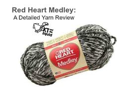Red Heart Medley Yarn Review
