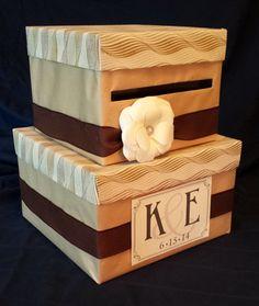 Card Box  Wedding Baby & Bridal Showers by LoftedDreams on Etsy, $40.00