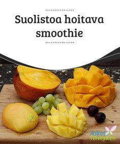 Suolistoa hoitava smoothie   Suolistolla on hyvin tärkeä rooli kehon terveyden #ylläpidossa, sillä sen kautta #poistamme #elimistöön kertyneitä myrkkyjä.  #Luontaishoidot