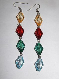 brown-green-blue-and-yellow-long-drop-dangle-earrings-fashion-jewelry-hand-made