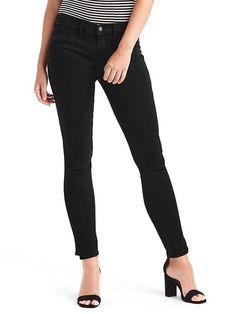Mid rise curvy true skinny jeans | Gap
