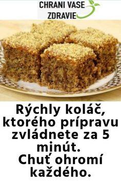 """Našli sme pár nových pinov na vašu nástenku """" Dolce Vita """" 3 - Sweet Desserts, Sweet Recipes, Cake Recipes, Dessert Recipes, Slovak Recipes, Czech Recipes, Vegan Recepies, Pavlova, No Bake Cake"""