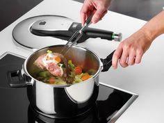 Die schnelle Art gesund zu kochen:Schnellkochen:WMF erleben