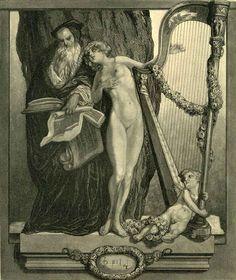Franz von Bayros: Temptation