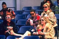 Me and Carrie Bradshaw have that in common well go anywhere you can drink and smoke in the middle of the day