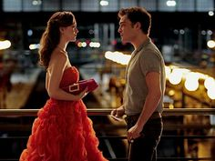 Chuck: Your world would be easier if I didn't come back Blair: That's true. But it wouldn't be my world without you in it. The infamous Paris train station scene.