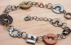Hardware Jewelry!  Jewelry made from stuff you may find at your local Hardware Store!  Who says Hardware is boring!?!?