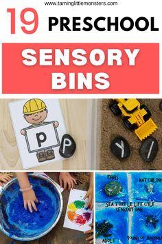 Sensory Bins, Sensory Activities, Sensory Play, Activities For Kids, Play Ideas, Pre School, Literacy, Have Fun, Numbers