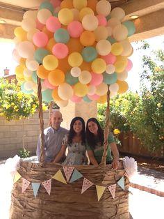 Hot Air Balloon shower