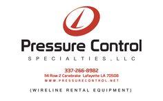 Pressure Control Sticker.