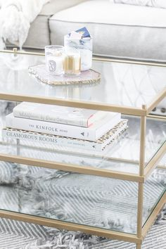 Neutral Living Room | Blush and Cream Living Room | New York City apartment | Small apartment decor ideas | Home Decor | Coffee Table Styling
