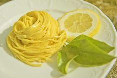 Tagliolini alla crema di limone. I sapori di Amalfi