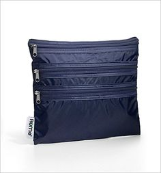 RuMe Bags Baggie All Zippered Organizer Navy >>> Find out more about the great product at the image link.