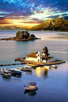 Corfu Island Greece