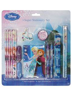 M&Co. Girls Frozen stationery set