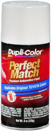 Dupli-Color EBTY16077 Natural White Toyota Exact-Match Automotive ...