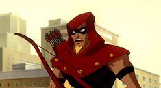 Archer (Crisis on Two Earths: Crime Syndicate Earth) Arsenal Dc, Jeff Chapman, Justice League Villain, Arrow Black Canary, King Shark, Arrow Oliver, Infinite Earths, Martian Manhunter, Red Arrow