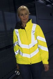 The only womens specific hi vis product stocked by Arco, Arup's preferred supplier for UK PPE.  About £50 plus VAT.