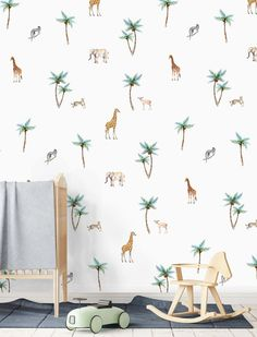 Trendy ideas for baby room wallpaper boy
