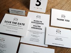 Wedding invitation downloadable suite from etsy