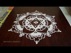 free hand rangoli images design || free hand rangoli designs video || www free hand rangoli com - YouTube Simple Rangoli Designs Images, Rangoli Designs Flower, Beautiful Rangoli Designs, Kolam Designs, Free Hand Rangoli Design, Free Design, Mandala, Projects To Try, Dots