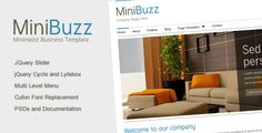 Deals Minibuzz - Clean Minimalist Business HTML Templatein each seller & make purchase online for cheap. Choose the best price and best promotion as you thing Secure Checkout you can trust Buy best