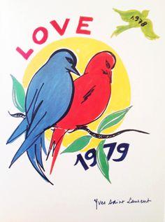 YSL love poster 1979