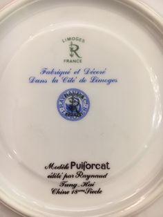 Ménagère art-déco- Vautrain (Plasait, succ)-124 pièces-Porcelaine PUIFORCAT-modèle-Fung-Hai - Argenterie d'Antan