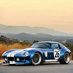 "Exotic Cars & Supercars on Instagram: ""Shelby Daytona Coupe Follow our Friends @BeverlyHillsCarClub for more of their amazing classics for sale @BeverlyHillsCarClub Visit www.BeverlyHillsCarClub.com # Photo by @drewphillipsphoto"""