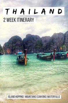 Thailand 2 Week Itinerary: A guide on visiting Chiang Mai, Koh Phi Phi, Koh Lanta, Pai, and Chiang Rai in two weeks. Includes bonus options and can be customized easily. Tips on where to stay and what to eat in Thailand. #Thailanditinerary #Thailandtravel See full Article: https://togethertowherever.com/two-week-thailand-itinerary/