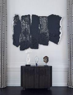 Black sideboard | a contemporary decor with a modern black sideboard |www.bocadolobo.com #modernsideboard #sideboardideas