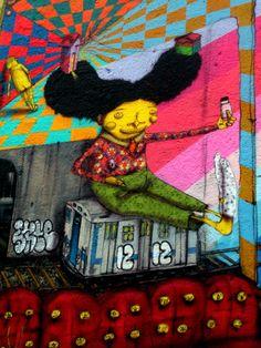 Street Art By Os Gemeos - New York City (NY)