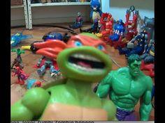 Tartarugas Ninja Mutant Turtles Filme X Coringa Joker  Hulk Homem Aranha...