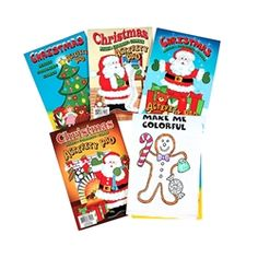 Holiday Activity Pads - 12 per pack