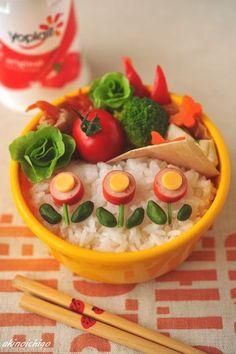 """Flower bento"" lunch box"