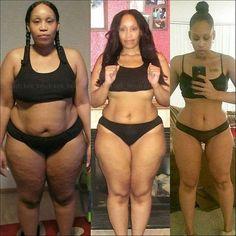 Que te parece esta transformación? Cuando se quiere se puede <3 #fitness
