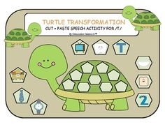 {Turtle Transformation} was created by My Communication Creations SLP©. It is a simple and fun game to practice the initial /T/ speech sound. Use it as you wish (e.g. in session, for homework, as part of a home program). This file includes the following items: - Nine initial /T/