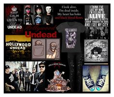 """Hollywood Undead"" by crystal0248 ❤ liked on Polyvore"